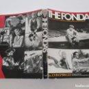 Libros de segunda mano: JOHN SPRINGER. THE FONDAS. THE FILMS AND CAREERS OF HENRY, JANE AND PETER FONDA. Lote 151617358