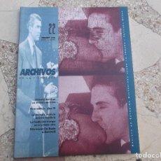 Libros de segunda mano: ARCHIVOS DE LA FILMOTECA Nº 22, 1996,ILUSTRADO,HISTORIA DEL CINE:UN MODELO DE CINE,CINE ALEMAN AÑOS . Lote 151960270