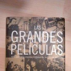 Libros de segunda mano: 'LAS GRANDES PELÍCULAS. 100 PELÍCULAS IMPRESCINDIBLES DE LA HISTORIA DEL CINE'. ROGERT EBERT. Lote 152005298