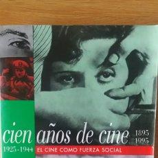 Libros de segunda mano: CIEN AÑOS DE CINE VOL II. EL CINE COMO FUERZA SOCIAL. 1925-1944. WERNER FAULTICH/HELMUT KORTE.. Lote 152514432