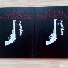 Libros de segunda mano: CLINT EASTWOOD - 2 VOLUMENES COMPLETA - PLANETA. Lote 153978778