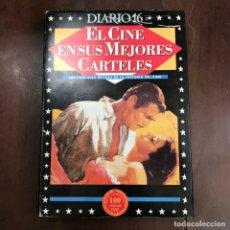 Libros de segunda mano: EL CINE EN SUS MEJORES CARTELES. Lote 154059954