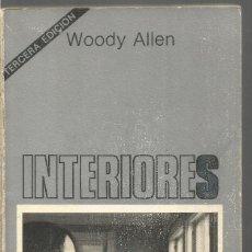 Libros de segunda mano - WOODY ALLEN. INTERIORES. TUSQUETS CUADERNOS INFIMOS - 155026518