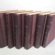 Libros de segunda mano: LOTE FILM IDEAL 6 LIBROS. REVISTAS. AÑO 1961 AL 1966. Nº DEL 63 AL 200. VER FOTOGRAFIAS. Lote 155247962