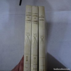 Libros de segunda mano: GRAN HISTORIA DEL CINE 2 TOMOS Y CINE MODERNO Y ESPAÑOL 1 TOMO - TERENCI MOIX - LA VANGUARDIA - 1984. Lote 155622746