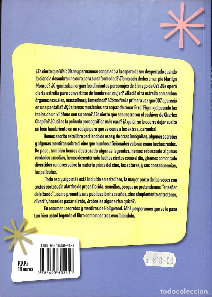 Libros de segunda mano: Secretos y mentiras de Hollywood - Miguel Juan Payán; Javier Payán - Foto 2 - 155868782