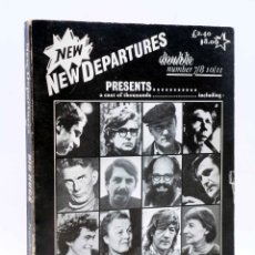 Libros de segunda mano: NEW DEPARTURES DOUBLE DOUBLE NUMBER 7/8 10/11. A CAST OF THOUSANDS (VVAA), 1975. Lote 156858368