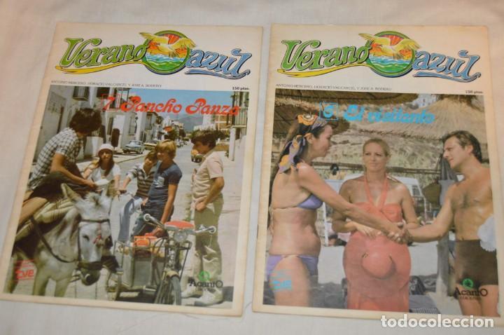 Libros de segunda mano: LOTE DE 8 EJEMPLARES REVISTA VERANO AZUL - A TODO COLOR - EDICIONES ACANTO - AÑOS 80 - ENVÍO 24H - Foto 8 - 157126374