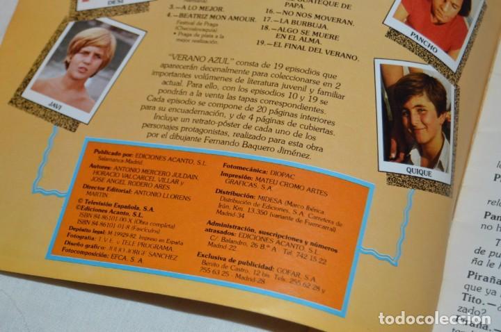 Libros de segunda mano: LOTE DE 8 EJEMPLARES REVISTA VERANO AZUL - A TODO COLOR - EDICIONES ACANTO - AÑOS 80 - ENVÍO 24H - Foto 11 - 157126374