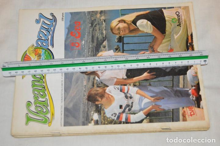 Libros de segunda mano: LOTE DE 8 EJEMPLARES REVISTA VERANO AZUL - A TODO COLOR - EDICIONES ACANTO - AÑOS 80 - ENVÍO 24H - Foto 14 - 157126374