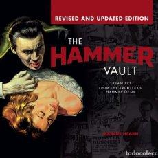 Libros de segunda mano: HAMMER VAULT. LIBRO SOBRE LAS PELÍCULAS DE TERROR DE LA HAMMER. REPLETO DE FOTOS. NUEVO.. Lote 157143034