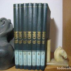 Libros de segunda mano: EL CINE,ENCICLOPEDIA DE SEPTIMO ARTE, BURULAN, 7 TOMOS, 1970. Lote 157369722