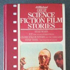 Libros de segunda mano: SCIENCE FICTION FILM STORIES HISTORIAS DE PELICULAS DE CIENCIA FICCIÓN STAR WARS E. T. ENCUENTROS. Lote 158407530