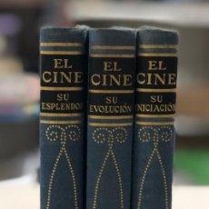 Libros de segunda mano: EL CINE. COMPLETO (3 TOMOS). HISTORIA ILUSTRADA DEL SÉPTIMO ARTE. MARIA LUZ MORALES. SALVAT 1950. . Lote 158516218