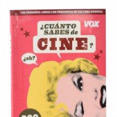 Libros de segunda mano: ¿CUÁNTO SABES DE CINE? - DOTRES, CARLOS (ED.). Lote 194947880