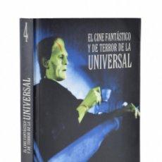 Libros de segunda mano: EL CINE FANTÁSTICO Y DE TERROR DE LA UNIVERSAL - VV. AA.. Lote 158629509