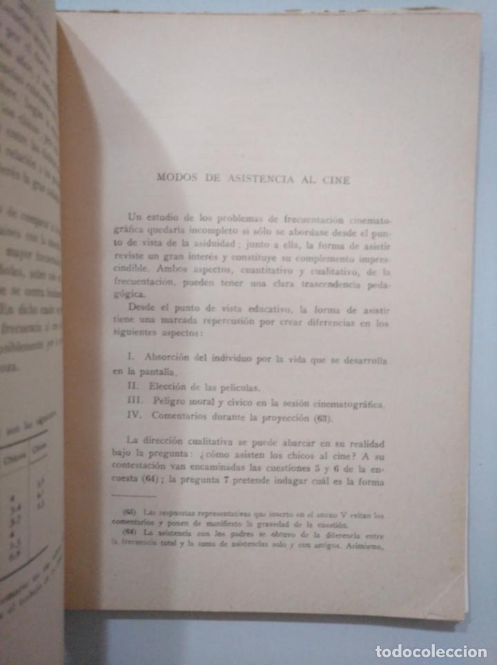 Libros de segunda mano: CINE Y JUVENTUD. - JUAN GARCÍA YAGÜE. INSTITUTO SAN JOSE DE CALASANZ. C.S.I.C. TDK379 - Foto 4 - 158675070