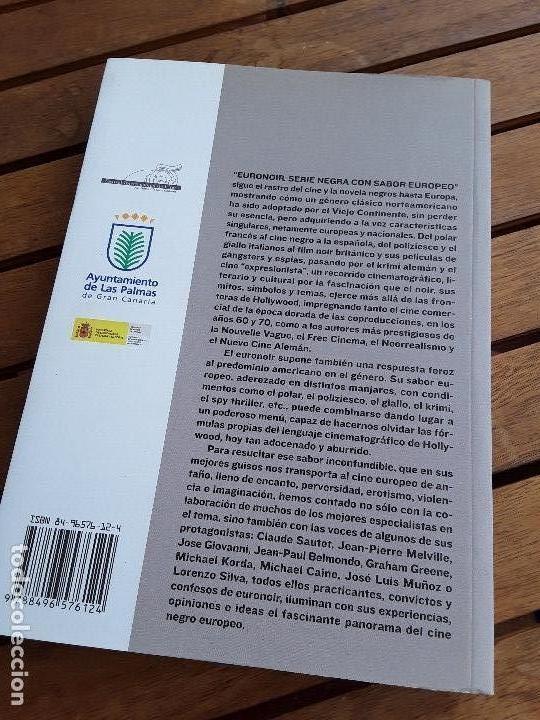 Libros de segunda mano: Euronoir (Serie negra con sabor europeo), de Jesús Palacios (ed.). Único en tc. Excelente estado. - Foto 2 - 161480762