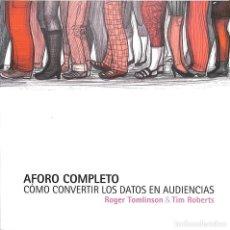 Libros de segunda mano: AFORO COMPLETO. Lote 162739008