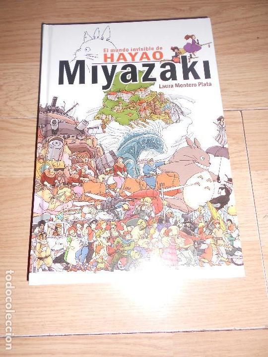 EL MUNDO INVISIBLE DE HAYAO MIYAZAKI - LAURA MONTERO PLATA (Libros de Segunda Mano - Bellas artes, ocio y coleccionismo - Cine)