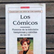 Libros de segunda mano: LOS CÓMICOS, VOLUMEN VI. COLECCIÓN 100 AÑOS DE CINE ESPAÑOL. AUT. MANUEL ROMÁN. ED. ROYAL BOOKS 1996. Lote 162962818