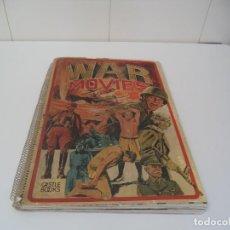 Libros de segunda mano: WAR MOVIES AÑO 1974 CARTELES DE PELÍCULAS BÉLICAS LIBRO EN INGLÉS DE 44 X 32 CONTIENE 162 PÁGINAS. Lote 163315770