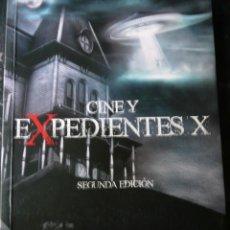 Libros de segunda mano: CINE Y EXPEDIENTES X MIGUEL ÁNGEL PLANA EDICIONES ROSETTA FIRMA AUTOR. . Lote 163864758