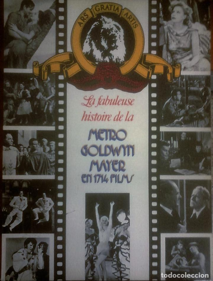 VARIOS - LA FABULEUSE HISTOIRE DE LA METRO GOLDWIN MAYER EN 1714 FILMS (FRANCÉS) (Libros de Segunda Mano - Bellas artes, ocio y coleccionismo - Cine)