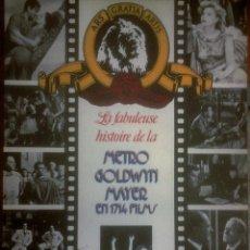 Libros de segunda mano: VARIOS - LA FABULEUSE HISTOIRE DE LA METRO GOLDWIN MAYER EN 1714 FILMS (FRANCÉS). Lote 164491166