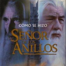 Libros de segunda mano: COMO SE HIZO EL SEÑOR DE LOS ANILLOS - EDITORAL MINOTAURO 2002 - IAN MC KELLEN - BUEN ESTADO. Lote 165274626