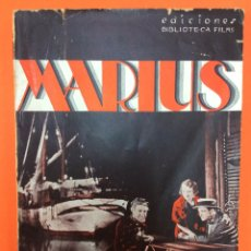 Libros de segunda mano: MARIUS - RAIMU PIERRE FRESNAY CHARPIN - INTONSO. Lote 165597522