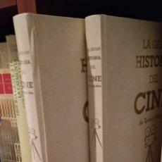 Libros de segunda mano: LA GRAN HISTORIA DEL CINE. TERENCI MOIX. 2 TOMOS. Lote 165648408