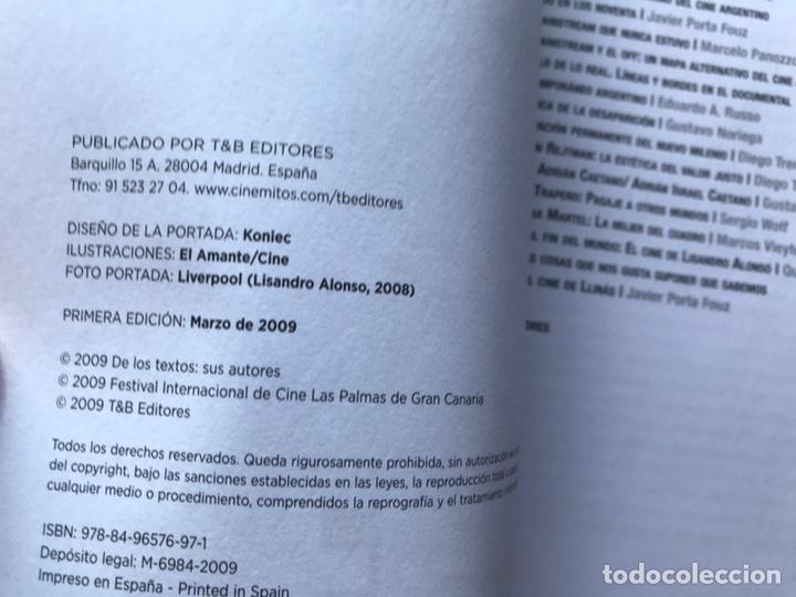 Libros de segunda mano: Nuevo cine argentino 1909-2008. Jaime Pena (ed). Como nuevo. - Foto 5 - 165648692
