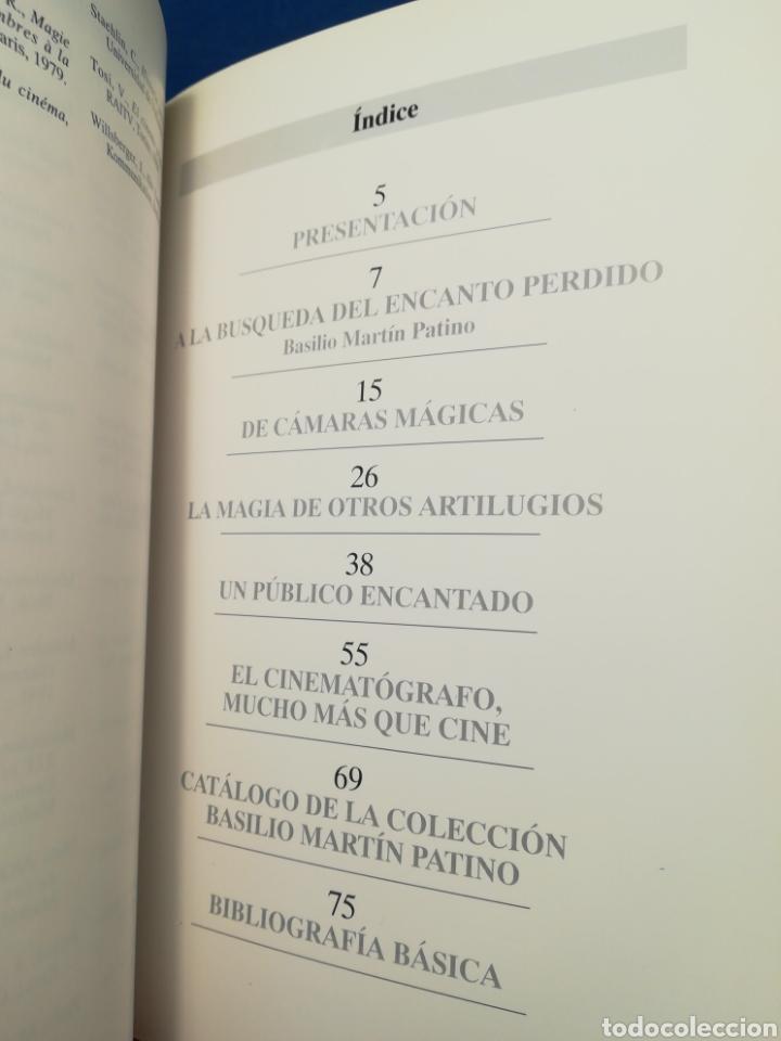 Libros de segunda mano: Artilugios para fascinar - Colección Basilio Martín Patino - Fco Javier Frutos - Filmoteca CyL, 1993 - Foto 4 - 165726734