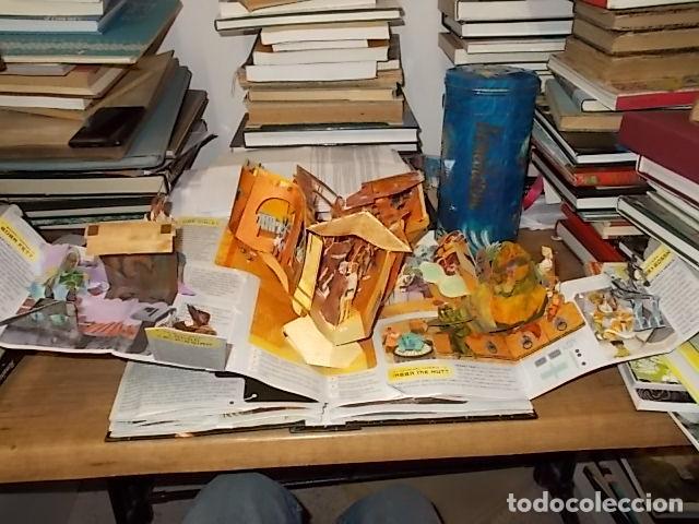 Libros de segunda mano: STAR WARS. A POP-UP GUIDE TO THE GALAXY. MATTHEW REINHART. 2007. DESPLEGABLES CON SABLES DE LUZ - Foto 11 - 166148141