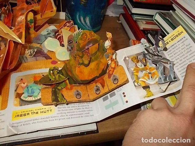 Libros de segunda mano: STAR WARS. A POP-UP GUIDE TO THE GALAXY. MATTHEW REINHART. 2007. DESPLEGABLES CON SABLES DE LUZ - Foto 14 - 166148141