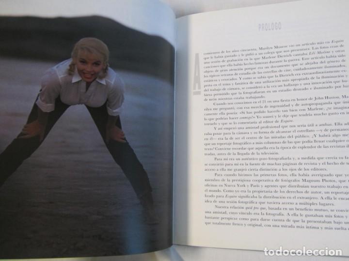 Libros de segunda mano: Marilyn Monroe, Un homenaje de Eve Arnold, Mondadori 1987 - Foto 6 - 166321874