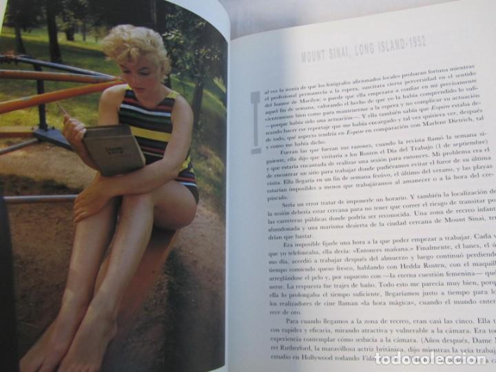 Libros de segunda mano: Marilyn Monroe, Un homenaje de Eve Arnold, Mondadori 1987 - Foto 8 - 166321874