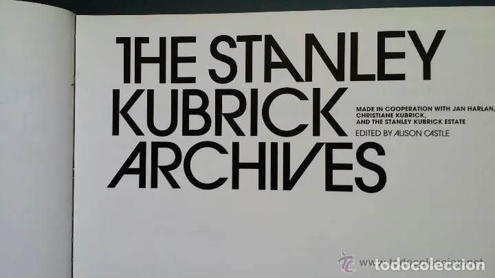 Libros de segunda mano: ARCHIVOS DE STANLEY KUBRICK / edición Taschen - Foto 4 - 167224152