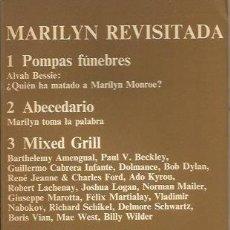 Libros de segunda mano: MARILYN REVISITADA - V.V. A.A. - CUADERNOS ANAGRAMA - GCH. Lote 167511832