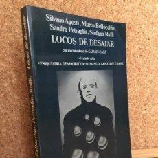 Libros de segunda mano: LOCOS DE DESATAR - V.V.A.A. - CINEMATECA ANAGRAMA 16 - GCH. Lote 167680728