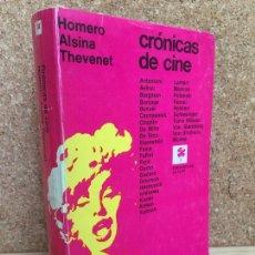 Second hand books - CRONICAS DE CINE - HOMERO ALSINA THEVENET - EDICIONES DE LA FLOR - GCH - 168048848