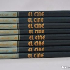 Libros de segunda mano: EL CINE ENCICLOPEDIA 7 ARTE COMPLETA BURU LAN EDICIONES 1973 8 TOMOS. Lote 168109444