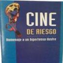 Libros de segunda mano: CINE DE RIESGO. LA MEDICINA EN EL CINE DE ALFRED HITCHCOCK.. Lote 168141568