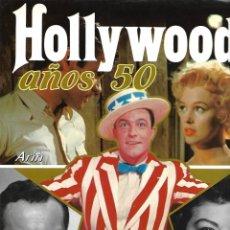 Libros de segunda mano: HOLLYWOOD AÑOS 50 CONTIENE 122. PÁGINAS DE FOTOS DE PELÍCULAS 1ª EDICIÓN NOVIEMBRE 1987. Lote 168171432