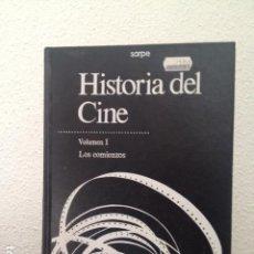 Libros de segunda mano: HISTORIA DEL CINE VOLUMEN I LOS COMIENZOS. Lote 168265940