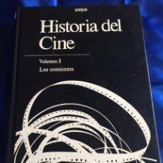Libros de segunda mano: HISTORIA DEL CINE I LOS COMIENZOS. Lote 168374180