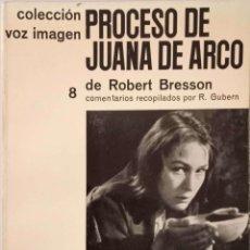 Libros de segunda mano: PROCESO DE JUANA DE ARCO. Lote 168475892