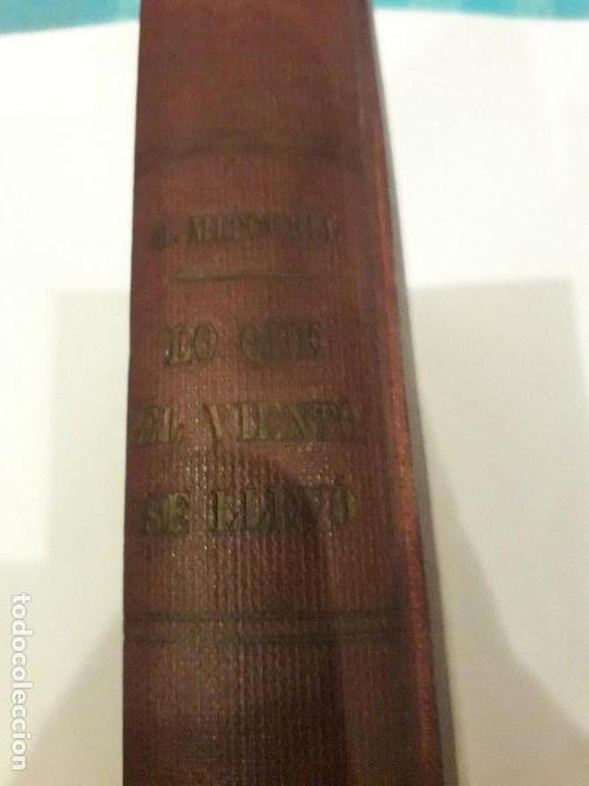 Libros de segunda mano: LO QUE EL VIENTO SE LLEVÓ. 1949.EDITORIAL AYMA - Foto 2 - 168626160