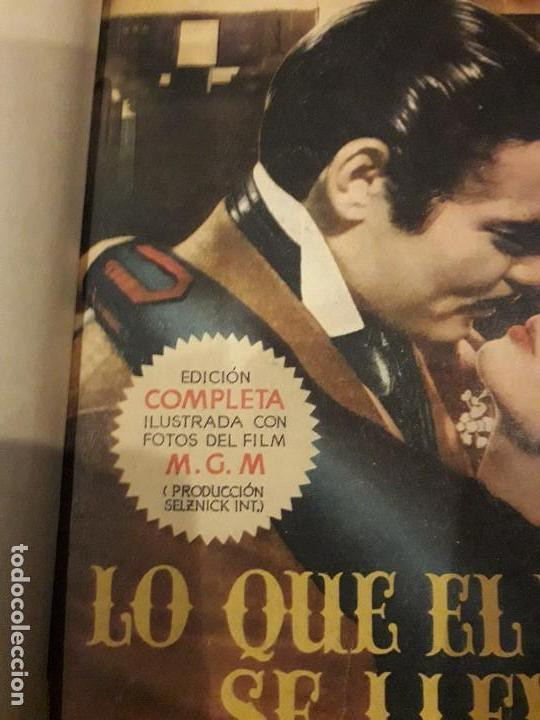Libros de segunda mano: LO QUE EL VIENTO SE LLEVÓ. 1949.EDITORIAL AYMA - Foto 4 - 168626160